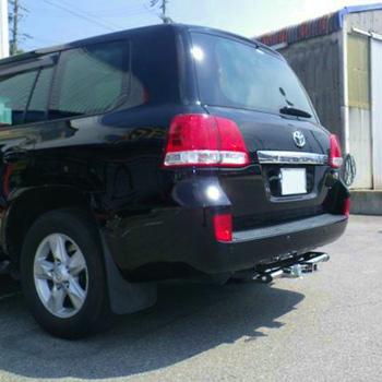 トヨタ ランドクルーザー200系(型式:CAB-UZJ200W) ヒッチメンバー取り付けレポート