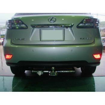 トヨタ レクサスRX450 (型式:DBA-GGL15W) ヒッチメンバー取り付けレポート