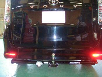 トヨタ VOXY(Z)2WD (型式:DBA-ZRR70W) ヒッチメンバー取り付けレポート