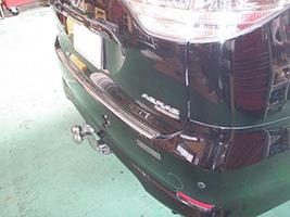 トヨタ エスティマ アエラス (型式:DBA-ACR50W) ヒッチメンバー取り付けレポート