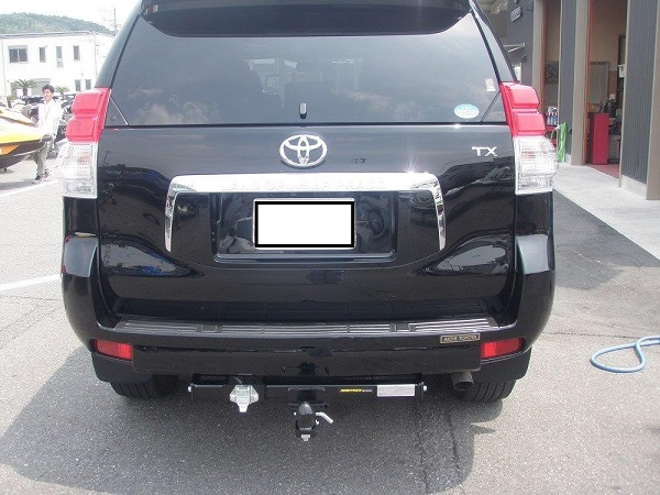 トヨタ ランドクルーザープラド150 ヒッチメンバー取り付けレポート